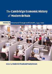 The Cambridge Economic History of Modern Britain