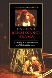 The Cambridge Companion to English Renaissance Drama