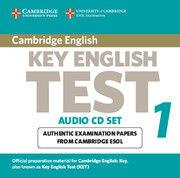 Cambridge Key English Test 1 Audio CD Set (2 CDs)