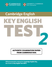 Cambridge Key English Test 2