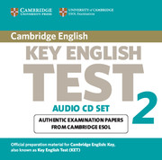 Cambridge Key English Test 2 Audio CD Set (2 CDs)