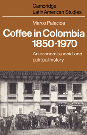 Coffee in Colombia, 1850–1970