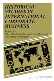 Historical Studies in International Corporate Business