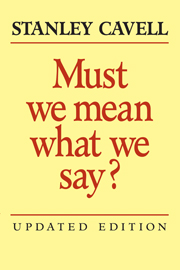 Must We Mean What We Say?