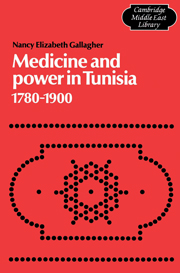 Medicine and Power in Tunisia, 1780–1900