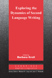 Exploring the Dynamics of Second Language Writing