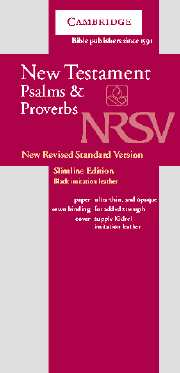 NRSV New Testament and Psalms