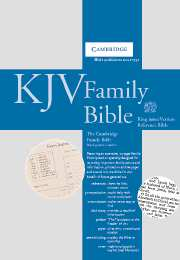KJV Cambridge Family Bible