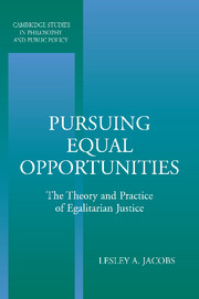 Pursuing Equal Opportunities