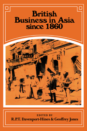 British Business in Asia since 1860