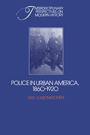 Police in Urban America, 1860–1920
