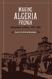 Making Algeria French