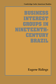 Business Interest Groups in Nineteenth-Century Brazil