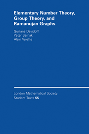 Elementary Number Theory, Group Theory and Ramanujan Graphs