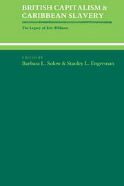 British Capitalism and Caribbean Slavery