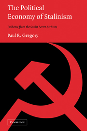 The Political Economy of Stalinism