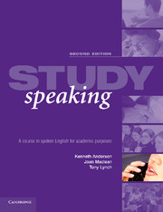 Study Speaking 2nd Edition