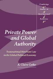 Private Power and Global Authority