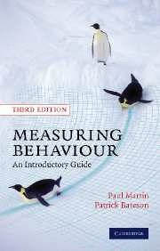 Measuring Behaviour