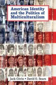 American Identity and the Politics of Multiculturalism