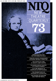 New Theatre Quarterly 73