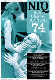 New Theatre Quarterly 74