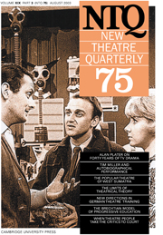New Theatre Quarterly 75