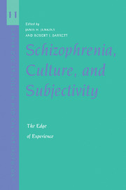 Schizophrenia, Culture, and Subjectivity