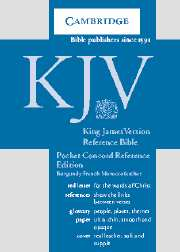 KJV Pocket Concord Reference Bible