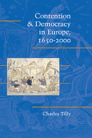 Contention and Democracy in Europe, 1650–2000
