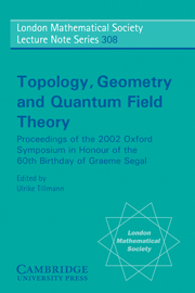 Topology, Geometry and Quantum Field Theory