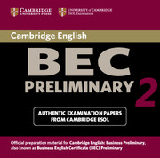Cambridge BEC Preliminary 2 Audio CD