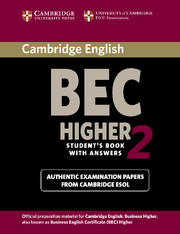 Cambridge BEC 2 Higher