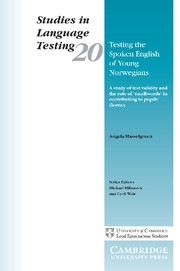 Testing the Spoken English of Young Norwegians