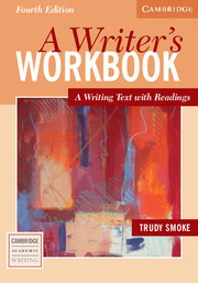 A Writer's Workbook 4th Edition