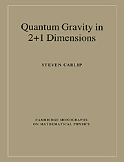 Quantum Gravity in 2+1 Dimensions
