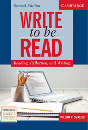 Write to Be Read 2nd Edition