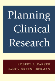 Planning Clinical Research
