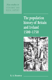The Population History of Britain and Ireland 1500–1750