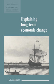 Explaining Long-Term Economic Change