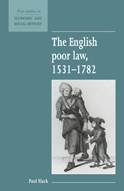 The English Poor Law, 1531–1782
