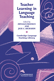 Teacher Learning in Language Teaching