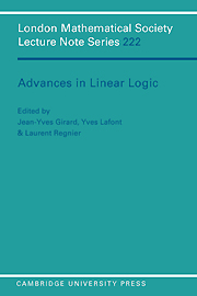Advances in Linear Logic