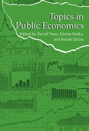 Topics in Public Economics