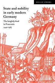 State and Nobility in Early Modern Germany