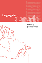 Language in Canada