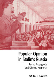 Popular Opinion in Stalin's Russia