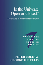 Is the Universe Open or Closed?