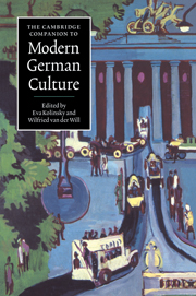 cover of The Cambridge Companion to Modern German Culture