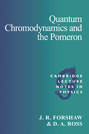 Quantum Chromodynamics and the Pomeron
